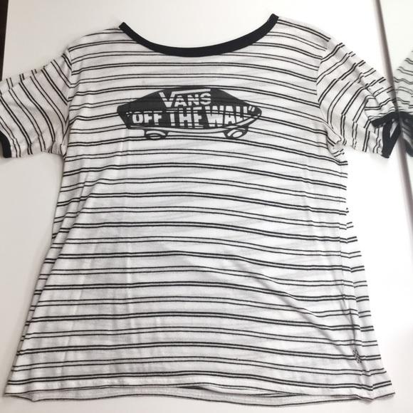 352133c593429f Vans OTW Striped Ringer Shirt. M 5b17875ac9bf502a1a67ed90